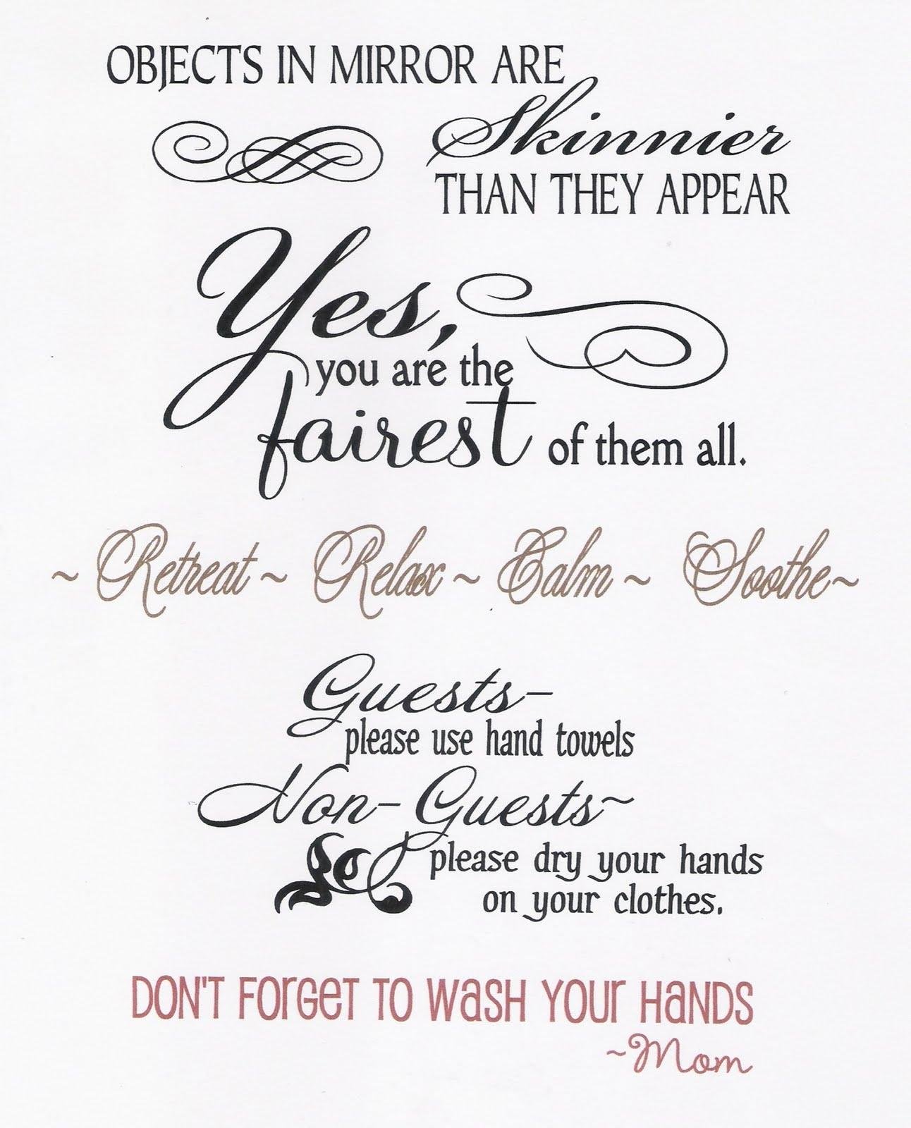Bathroom Quotes. QuotesGram