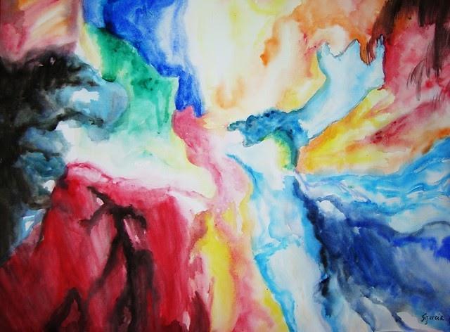 Abstract Art: Color Splash