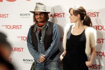 Depp y Angelina en Madrid 'The Tourist'