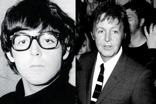 Antes e depois: Paul McCartney