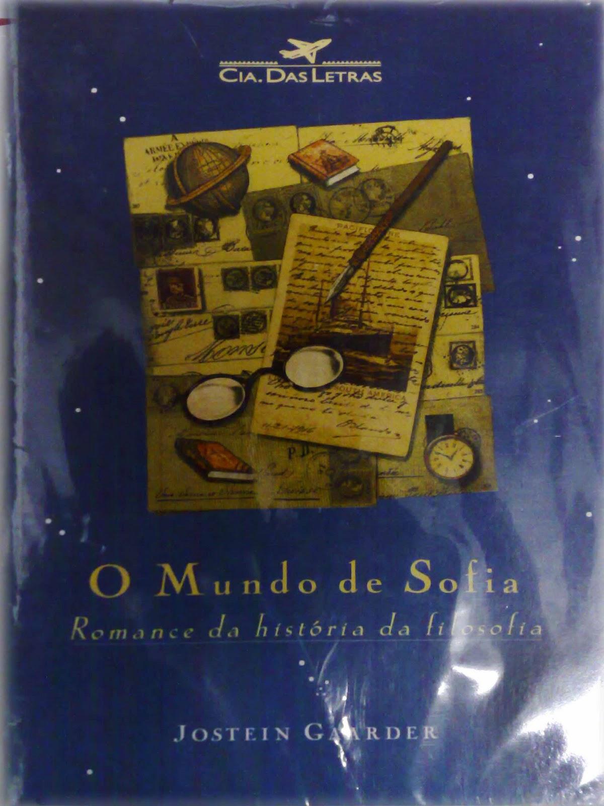 CANTINHO DO LIVRO - 87868248\96215329: O mundo de sofia