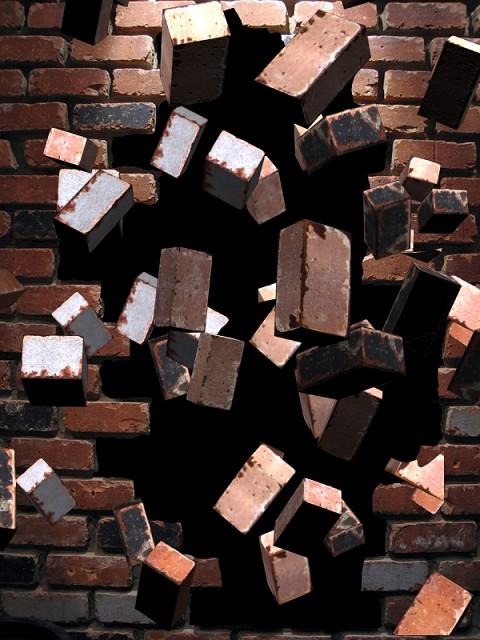 breaking down walls