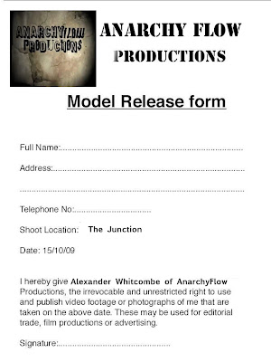 Model Release Forms. Photography Model Release Form Stationery ...