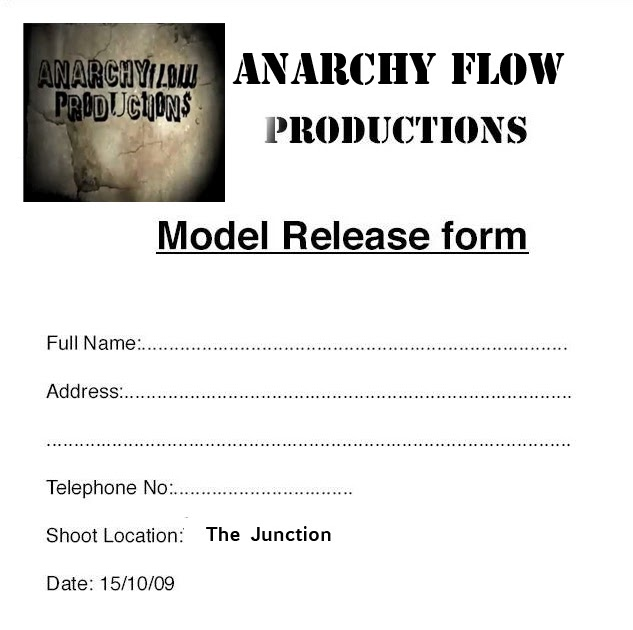 Alexander Music Video Model Release Forms