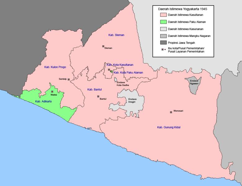 Gambar Peta Kota Jogja | GAMBAR PETA INDONESIA DUNIA ...