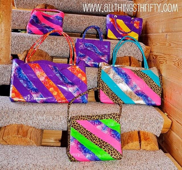 someday crafts duct tape purse. Black Bedroom Furniture Sets. Home Design Ideas