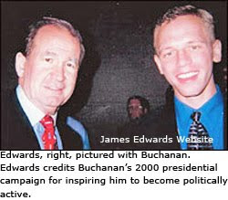 James Edwards and Pat Buchanan