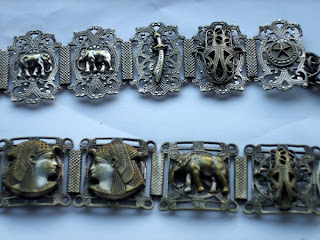 Assorted Egyptian bracelets in my collection