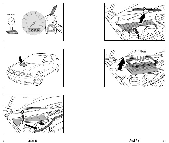 Audi S3 Audi A3 Type 8l Diy Cabin Air Filter Replacement
