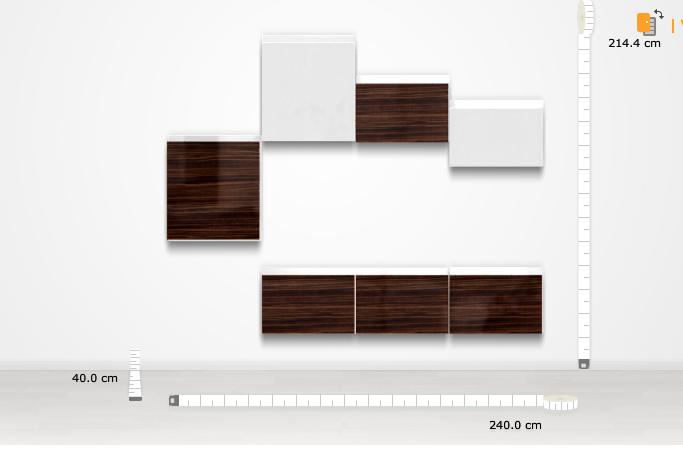 forum corridoio con soluzione besta di ikea. Black Bedroom Furniture Sets. Home Design Ideas
