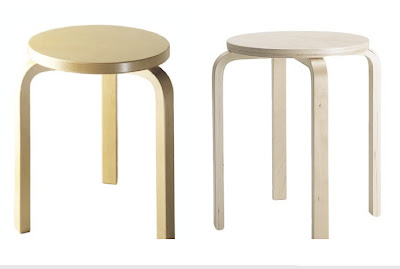 Double Take Aalto And Ikea Stools