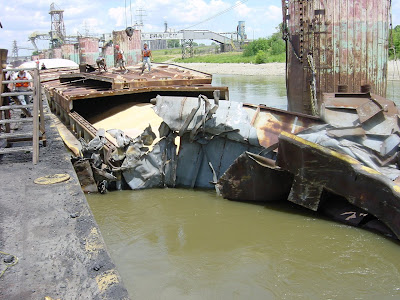 Barge Accident
