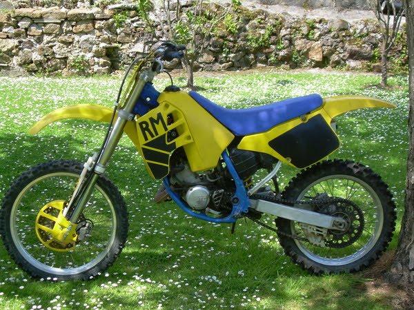 motos moto de cross antigua. Black Bedroom Furniture Sets. Home Design Ideas