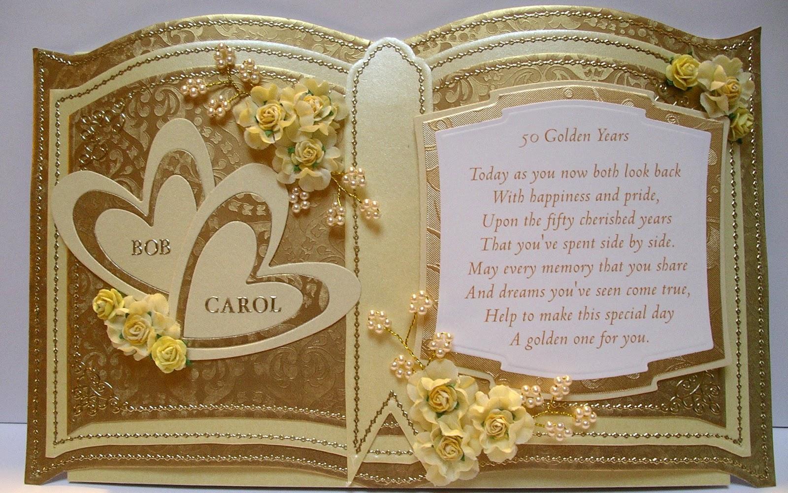 Ballerina Craft: Golden Wedding Anniversary