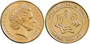 Australia 1 Dollar 2007 Apec