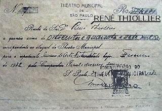 recibo teatro municipal - Série Avenida Paulista: a Villa Fortunata e o parque. Como é o nome mesmo?