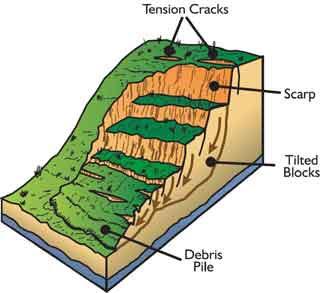 "Geoscience metaphors (geo-puns) – ""Won by a landslide"" | EARTH RELATED"