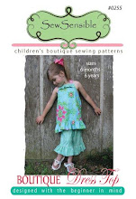 Boutique Dress Top Sewing Pattern