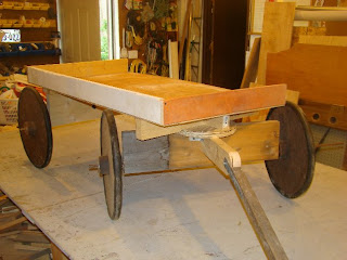 McKennawerks: Parts, the front axle tree