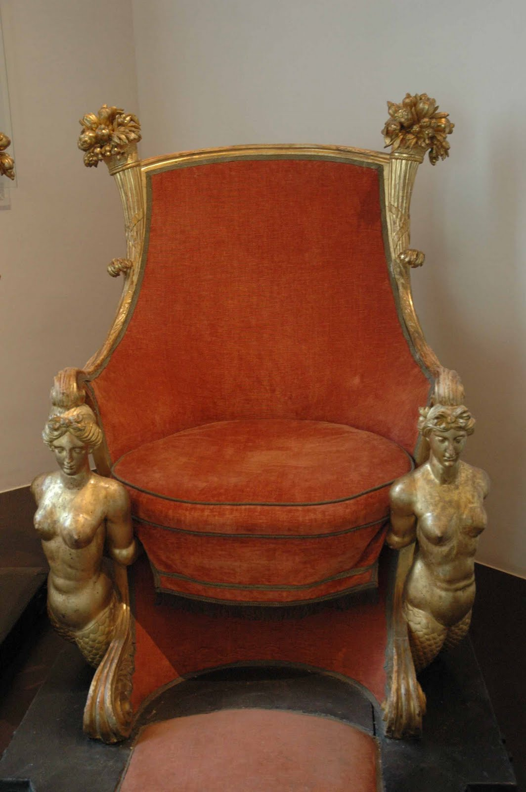 The Mermaid Chair Santa Hat Covers Set 4 Barbara Jacksier Waterside Wednesday Mad For Mermaids