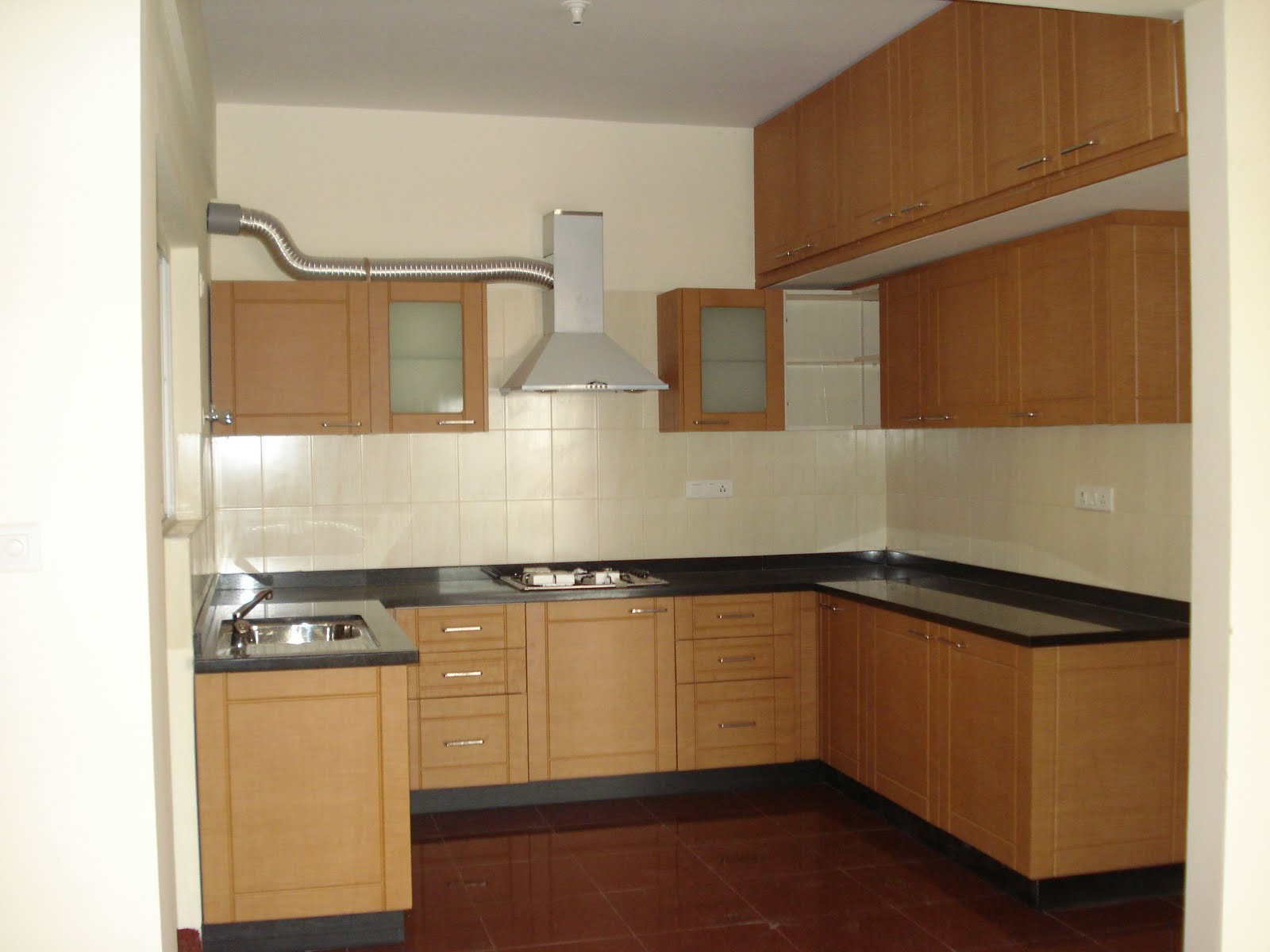 Small indian kitchen design photos - New Material For Interior Design In India Decor For Small Apartments Kitchen