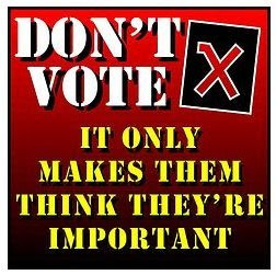「do not vote」的圖片搜尋結果