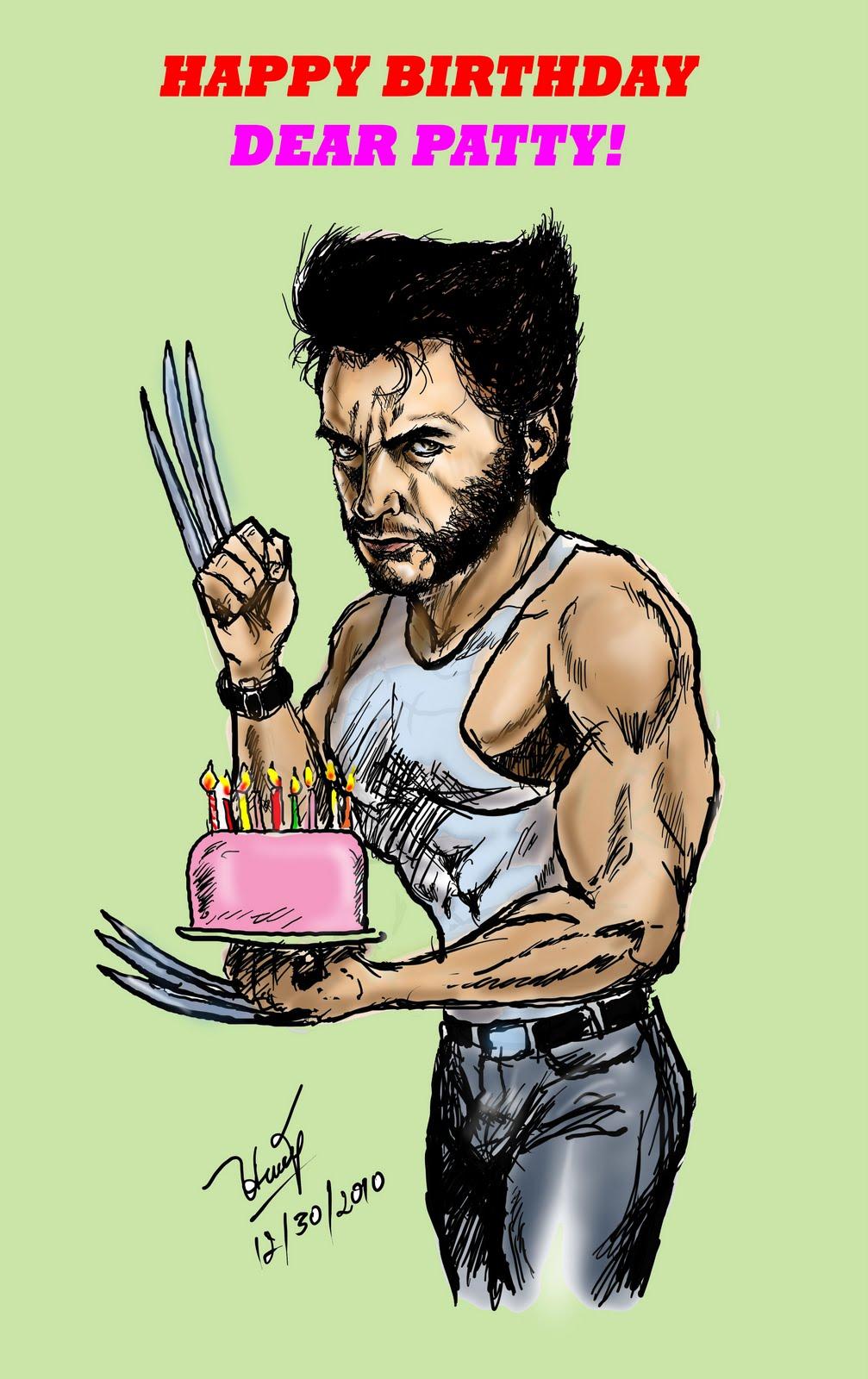wolverine birthday Stories and Art: Happy Birthday, Patty! (from The Wolverine) wolverine birthday