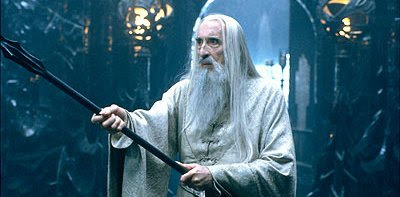 Christopher Lee on going back to Saruman. | Peter T. Chattaway