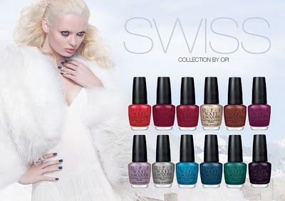 Productrater Opi Swiss Collection Fall Winter 2010