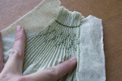 how to hand smocking techniques