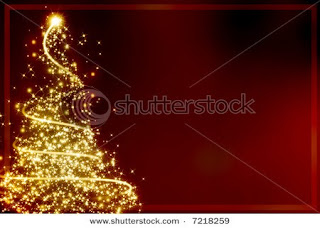 golden christmas tree wallpapers