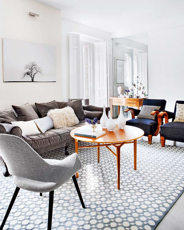 Scandinavian Living Room Design Ideas Inspiration: STYLE CODE: Sunday DESIGN: Clean & Simple MADRID Here I Come