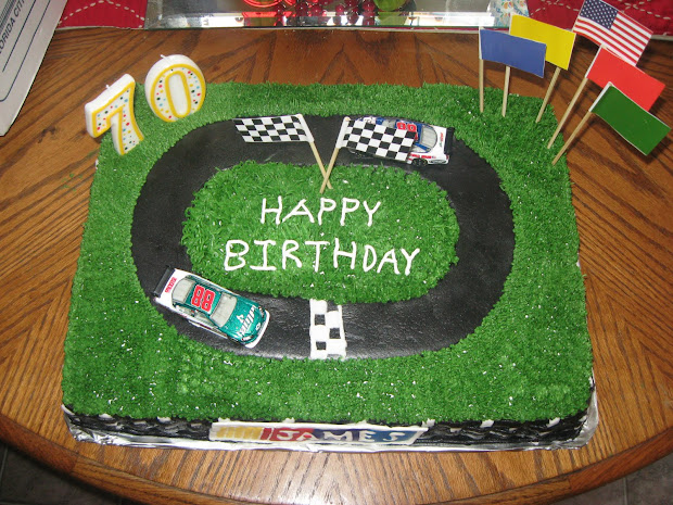 Delectable Sweets Smiths Nascar Cake