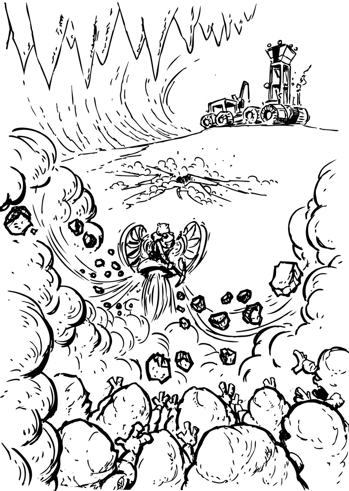 miner coloring pages - photo #16