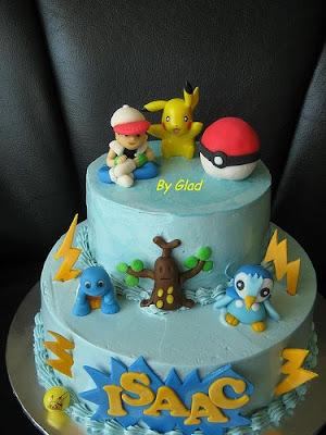 Glad S Passion Isaac S Pokemon Cake