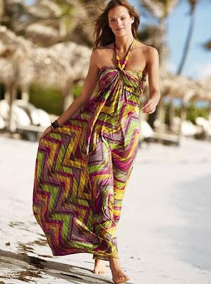 dac8bd3e42 Victoria s Secret Fashion  Summer Halter Maxi Dresses 2010
