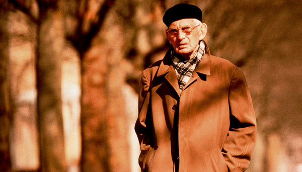 Samuel Beckett in Paris, 1984. Photograph: Ulf Andersen/Getty Images