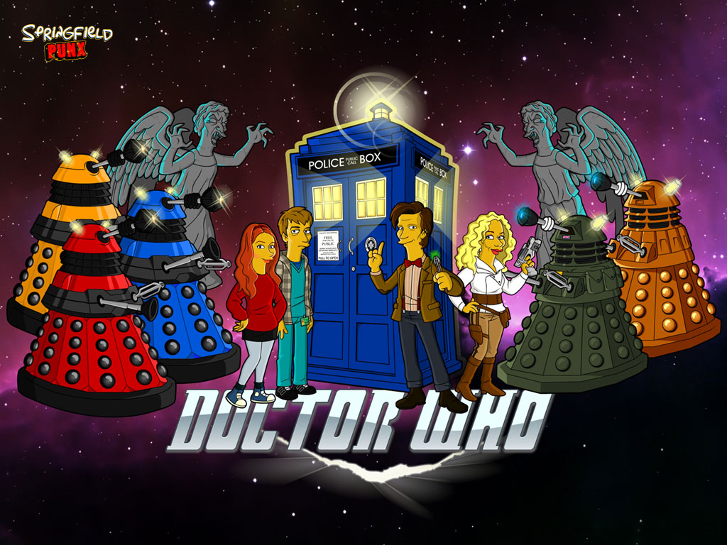 Springfield punx doctor who wallpaper - Dr who wallpaper ...