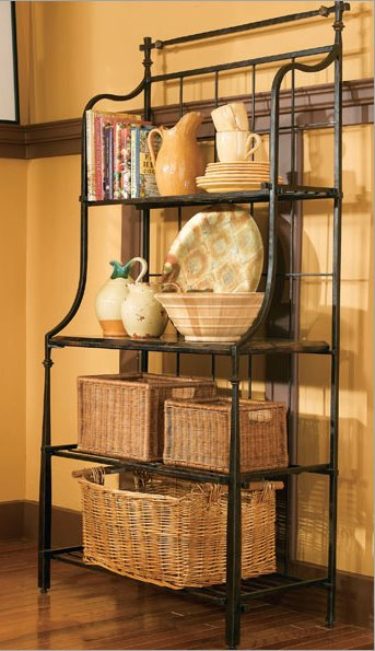 Old Sweetwater Cottage Bakers Rack