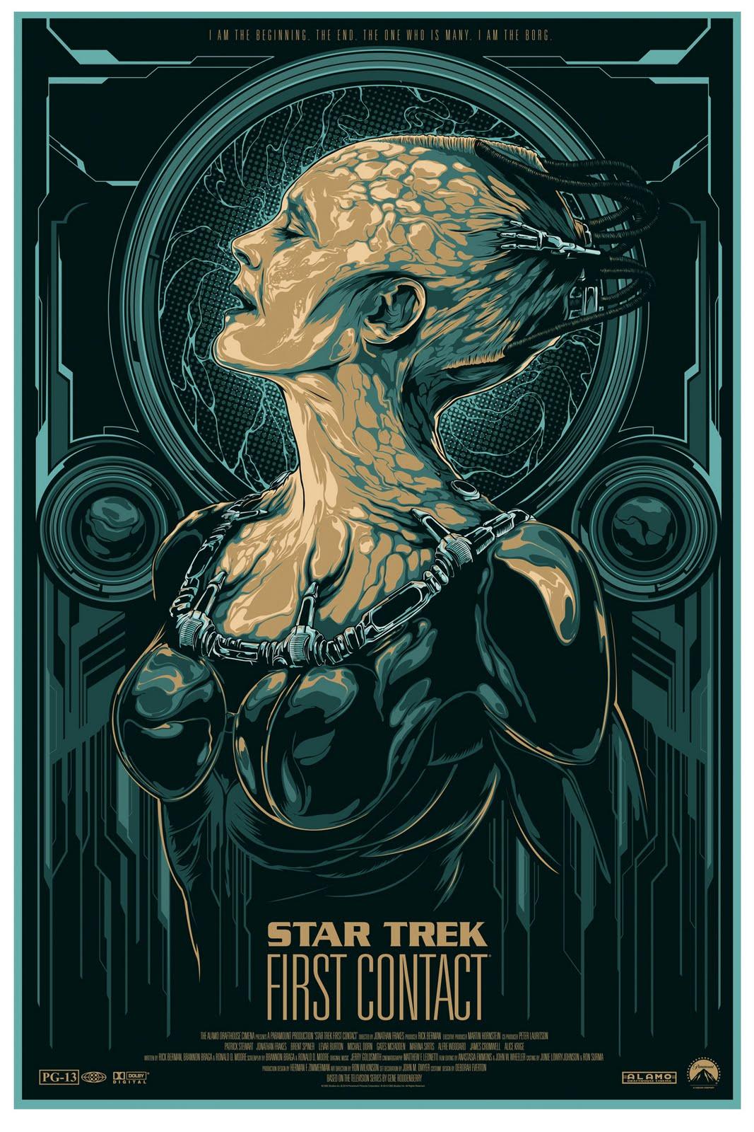 Trek queen rule borg 34 star