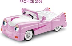Blade 7184 My Chevron Breast Cancer Car Collection