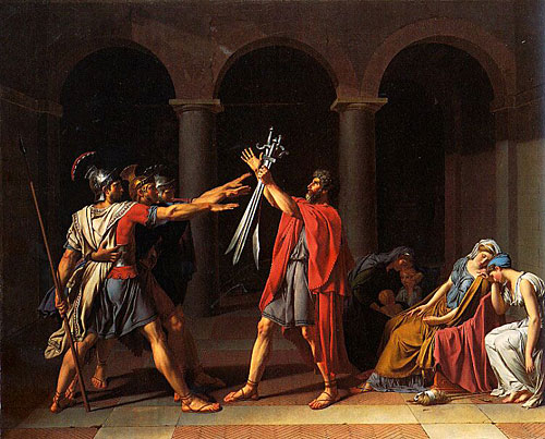 Art & Culture: 104: December 2010 Oath Of The Horatii