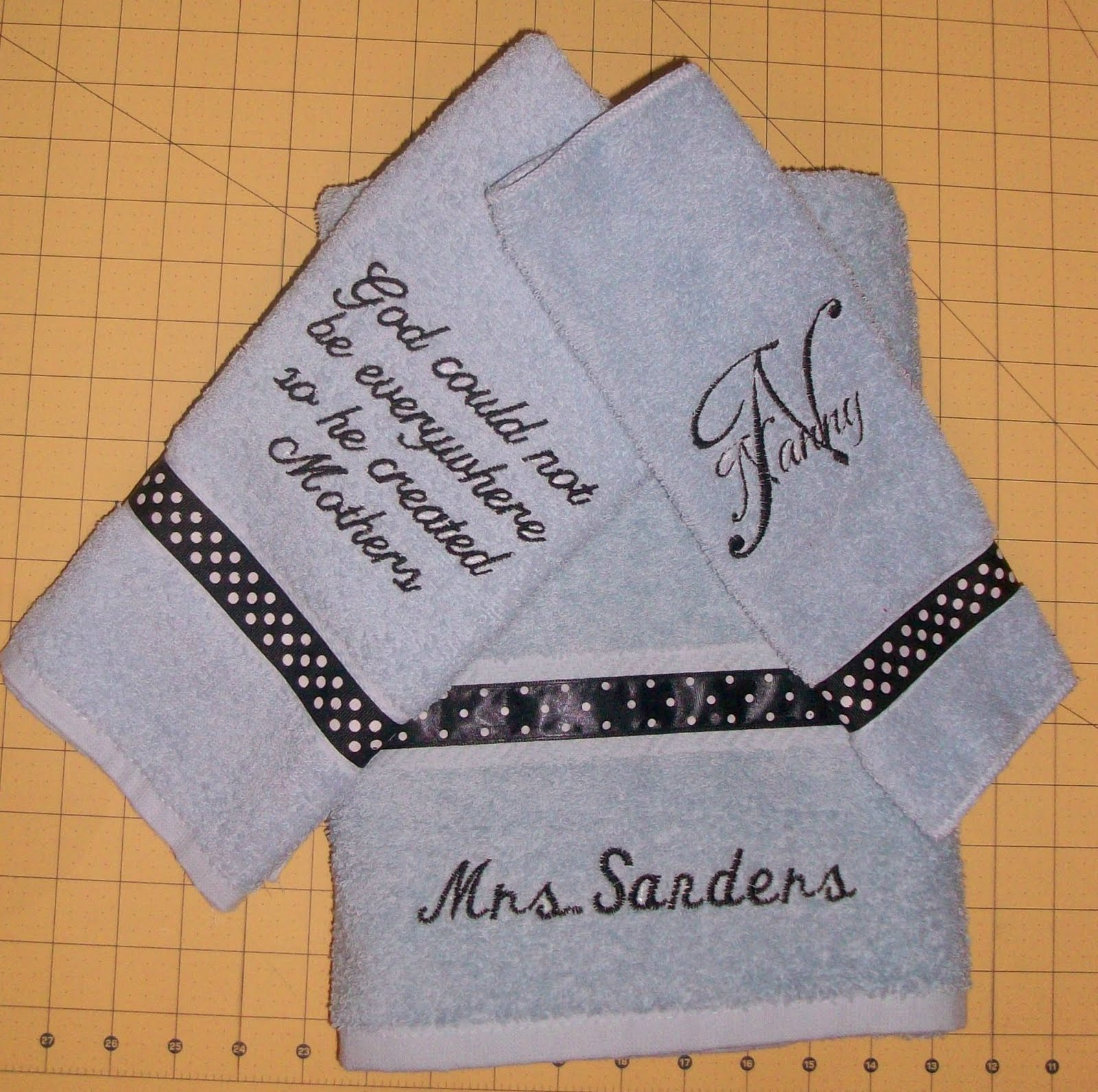 Mothers Day and Fathers Day Towel sets | Cooda's Corner