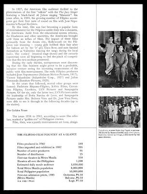 PELIKULA, ATBP.: NOTES ON THE HISTORY OF PHILIPPINE CINEMA