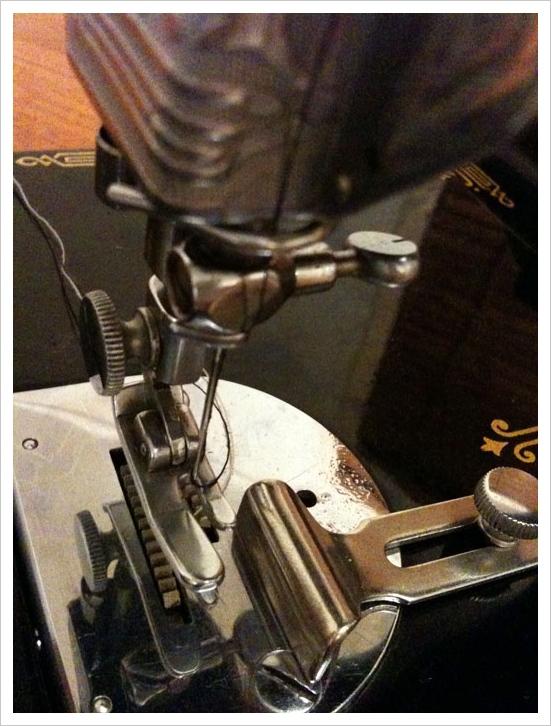 Singer 221 K Sewing Machine Threading Diagram