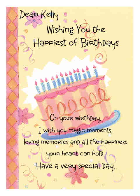 The Bugbytes Happy Birthday Kelly