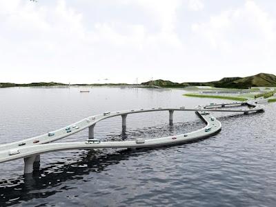 Proiect ingenios: podul in forma de 8