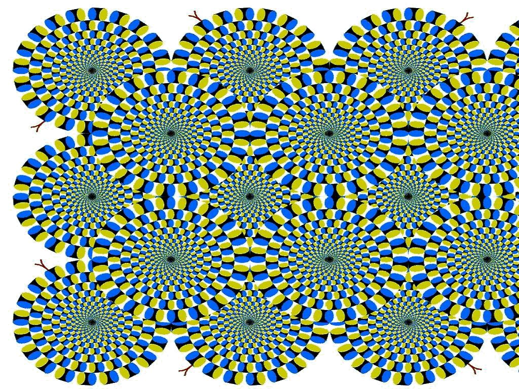 optical illusion things illusions eyes moving patterns eye trick cool move seeing tricks pattern vision amazing mind brain visual think