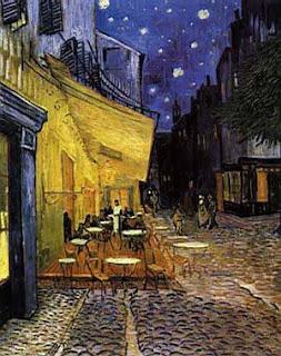 Eco Vicente Van Gogh Terrasse Du Café Le Soir Place Du