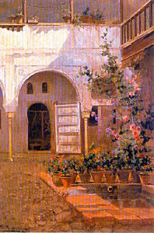 José de Larrocha González, Paisajistas españoles, Paisajes de José de Larrocha, Pintor español, Pintores de Granada, José de Larrocha, Pintores Andaluces, Pintor José de Larrocha